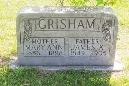 GRISHAM, MARY ANN - Newton County, Arkansas | MARY ANN GRISHAM - Arkansas Gravestone Photos