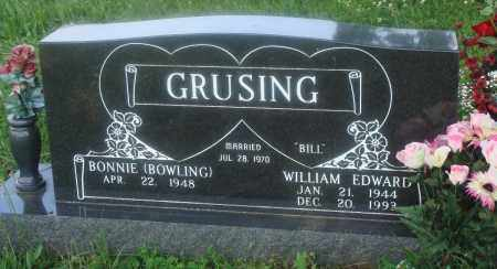 "GRUSHING, WILLIAM EDWARD ""BILL"" - Newton County, Arkansas 