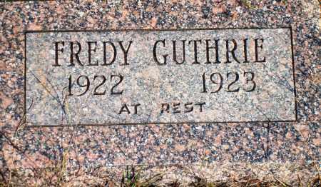 GUTHRIE, FREDY - Newton County, Arkansas | FREDY GUTHRIE - Arkansas Gravestone Photos