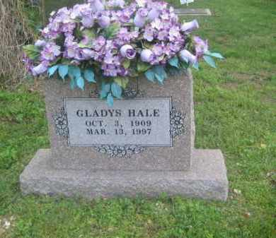 HALE, GLADYS - Newton County, Arkansas | GLADYS HALE - Arkansas Gravestone Photos