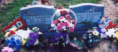 HARDERSON, LARK VESTON - Newton County, Arkansas | LARK VESTON HARDERSON - Arkansas Gravestone Photos
