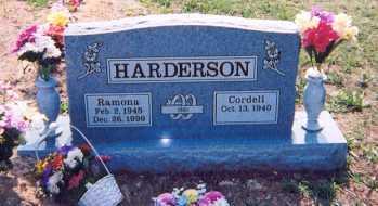 HARDERSON, RAMONA - Newton County, Arkansas | RAMONA HARDERSON - Arkansas Gravestone Photos