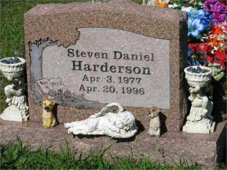 HARDERSON, STEVEN DANIEL - Newton County, Arkansas | STEVEN DANIEL HARDERSON - Arkansas Gravestone Photos
