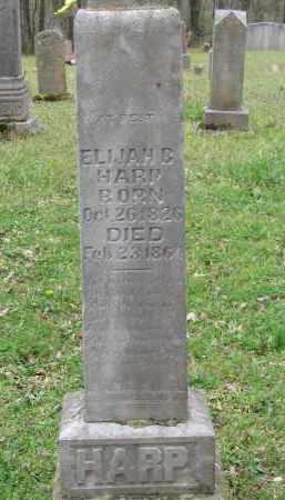 HARP, ELIJAH BOHANNON - Newton County, Arkansas | ELIJAH BOHANNON HARP - Arkansas Gravestone Photos