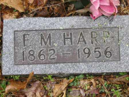 HARP, FRANCIS MARIA - Newton County, Arkansas   FRANCIS MARIA HARP - Arkansas Gravestone Photos