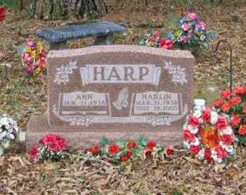 HARP, HARLON - Newton County, Arkansas | HARLON HARP - Arkansas Gravestone Photos