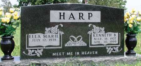 HARP, KENNETH B - Newton County, Arkansas | KENNETH B HARP - Arkansas Gravestone Photos