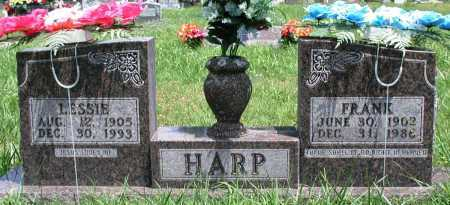 HARP, LESSIE - Newton County, Arkansas | LESSIE HARP - Arkansas Gravestone Photos