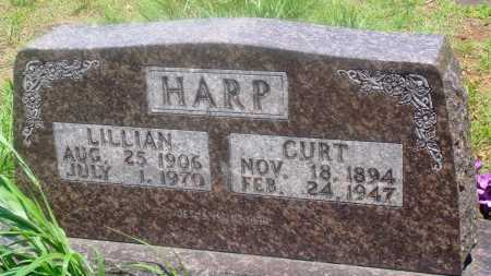HARP, LILLIAN - Newton County, Arkansas | LILLIAN HARP - Arkansas Gravestone Photos