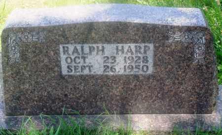 HARP, RALPH - Newton County, Arkansas   RALPH HARP - Arkansas Gravestone Photos
