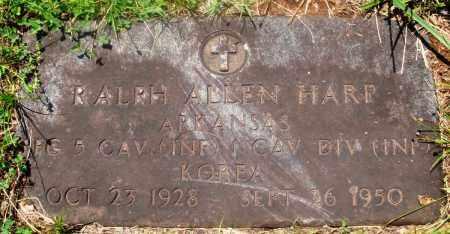 HARP (VETERAN KOR), RALPH ALLEN - Newton County, Arkansas | RALPH ALLEN HARP (VETERAN KOR) - Arkansas Gravestone Photos