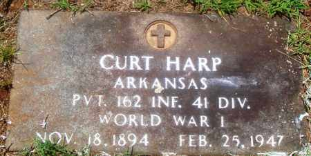 HARP (VETERAN WWI), CURT - Newton County, Arkansas | CURT HARP (VETERAN WWI) - Arkansas Gravestone Photos
