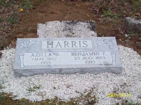 "SISCO HARRIS, AZILLA ANN ""ZILLA"" - Newton County, Arkansas 