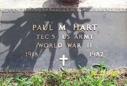 HART (VETERAN WWII), PAUL M - Newton County, Arkansas | PAUL M HART (VETERAN WWII) - Arkansas Gravestone Photos