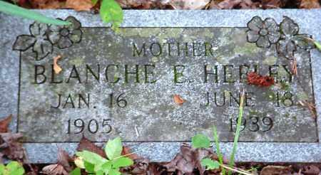 HEFLEY, BLANCHE E - Newton County, Arkansas | BLANCHE E HEFLEY - Arkansas Gravestone Photos
