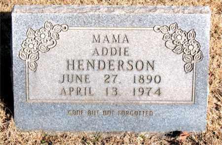 HENDERSON, ADDIE - Newton County, Arkansas | ADDIE HENDERSON - Arkansas Gravestone Photos