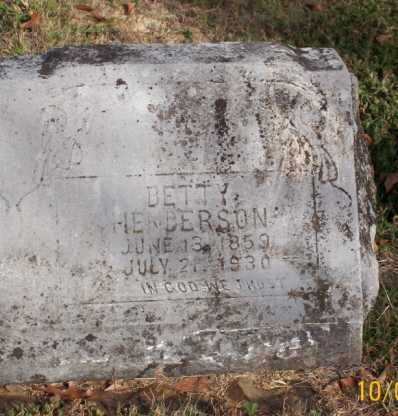HENDERSON, BETTY - Newton County, Arkansas | BETTY HENDERSON - Arkansas Gravestone Photos