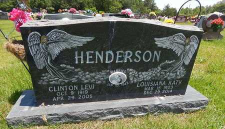 HENDERSON, CLINTON LEVI - Newton County, Arkansas | CLINTON LEVI HENDERSON - Arkansas Gravestone Photos