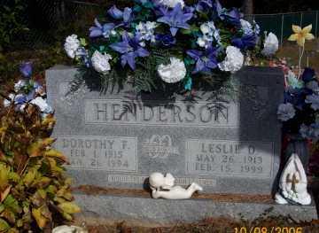 HENDERSON, DOROTHY F. - Newton County, Arkansas | DOROTHY F. HENDERSON - Arkansas Gravestone Photos