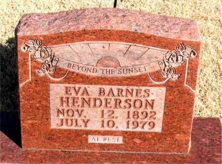 HENDERSON, EVA - Newton County, Arkansas | EVA HENDERSON - Arkansas Gravestone Photos