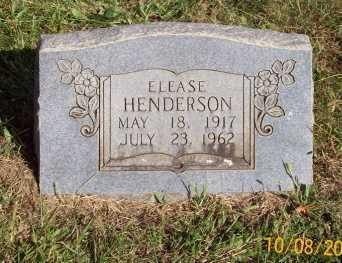 HENDERSON, ELEASE - Newton County, Arkansas | ELEASE HENDERSON - Arkansas Gravestone Photos