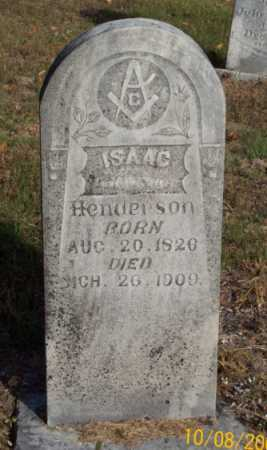 HENDERSON, ISAAC - Newton County, Arkansas | ISAAC HENDERSON - Arkansas Gravestone Photos