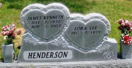 HENDERSON, JAMES KENNETH - Newton County, Arkansas | JAMES KENNETH HENDERSON - Arkansas Gravestone Photos
