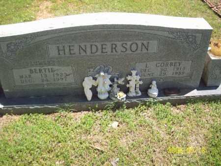 PLUMLEE HENDERSON, BERTIE - Newton County, Arkansas | BERTIE PLUMLEE HENDERSON - Arkansas Gravestone Photos