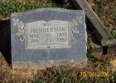HENDERSON, MAE - Newton County, Arkansas | MAE HENDERSON - Arkansas Gravestone Photos