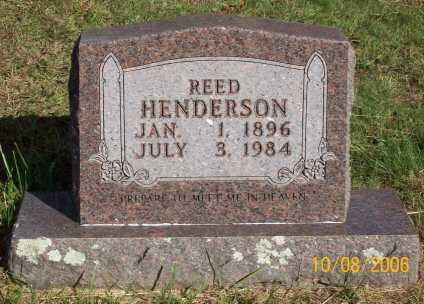 HENDERSON, REED - Newton County, Arkansas | REED HENDERSON - Arkansas Gravestone Photos