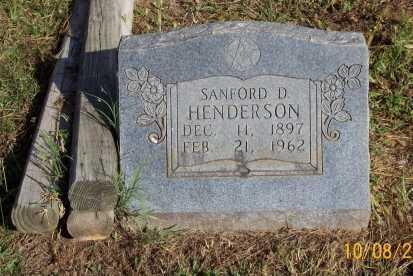 HENDERSON, SANFORD D. - Newton County, Arkansas | SANFORD D. HENDERSON - Arkansas Gravestone Photos