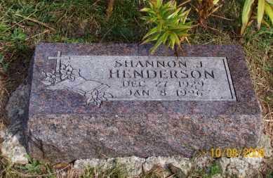 HENDERSON, SHANNON J. - Newton County, Arkansas | SHANNON J. HENDERSON - Arkansas Gravestone Photos