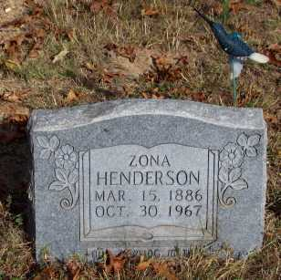 HENDERSON, ZONA - Newton County, Arkansas | ZONA HENDERSON - Arkansas Gravestone Photos
