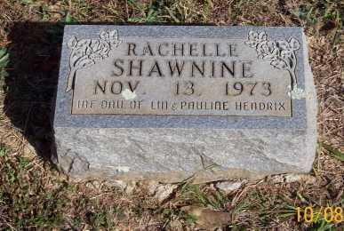 HENDRIX, RACHELLE SHAWNINE - Newton County, Arkansas | RACHELLE SHAWNINE HENDRIX - Arkansas Gravestone Photos