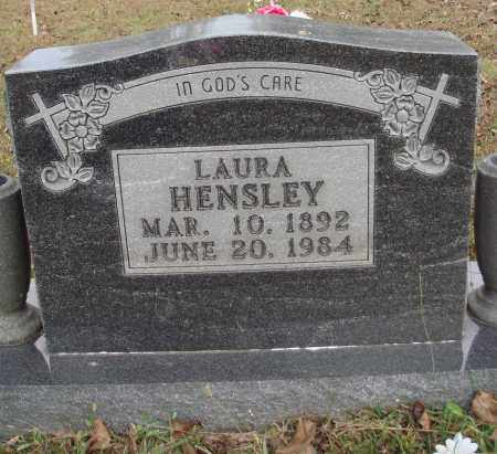 HENSLEY, LAURA - Newton County, Arkansas | LAURA HENSLEY - Arkansas Gravestone Photos