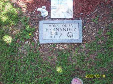 HERNANDEZ, MONA LOUISA - Newton County, Arkansas | MONA LOUISA HERNANDEZ - Arkansas Gravestone Photos
