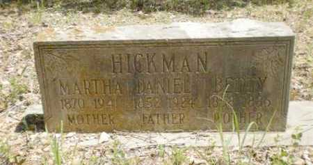 HICKMAN, MARTHA - Newton County, Arkansas | MARTHA HICKMAN - Arkansas Gravestone Photos