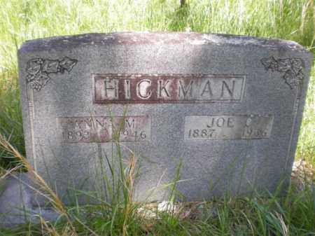 HICKMAN, JOE C. - Newton County, Arkansas | JOE C. HICKMAN - Arkansas Gravestone Photos