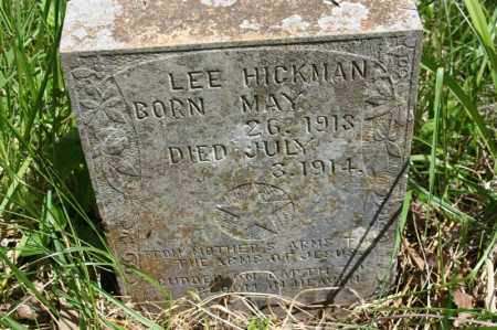 HICKMAN, LEE - Newton County, Arkansas | LEE HICKMAN - Arkansas Gravestone Photos