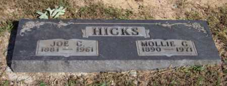 HICKS, MOLLIE G. - Newton County, Arkansas | MOLLIE G. HICKS - Arkansas Gravestone Photos