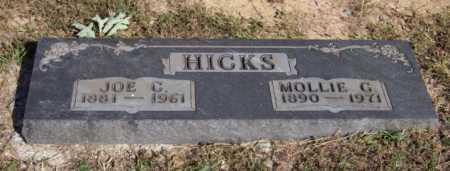 HICKS, MOLLIE G. - Newton County, Arkansas | MOLLIE G. HICKS - Arkansas Gravestone Photos