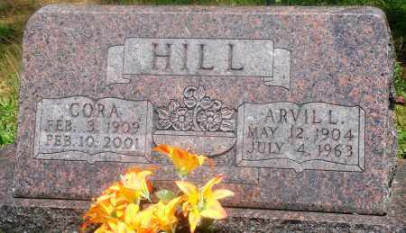 HILL, ARVIL L - Newton County, Arkansas | ARVIL L HILL - Arkansas Gravestone Photos