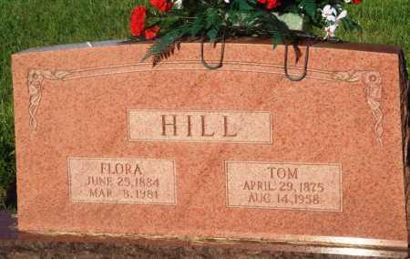 HILL, FLORA - Newton County, Arkansas | FLORA HILL - Arkansas Gravestone Photos