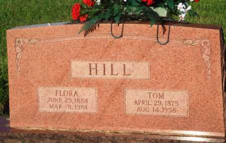 HILL, FLORA - Newton County, Arkansas | FLORA HILL - Arkansas Gravestone Photos