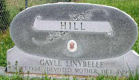 HILL, GAYLE LINYBELLE - Newton County, Arkansas | GAYLE LINYBELLE HILL - Arkansas Gravestone Photos