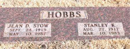 HOBBS, STANLEY K. - Newton County, Arkansas | STANLEY K. HOBBS - Arkansas Gravestone Photos