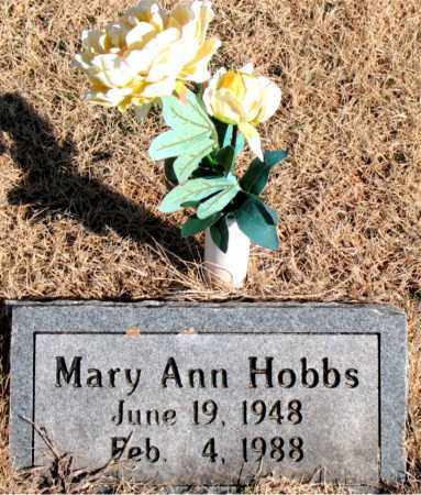 HOBBS, MARY ANN - Newton County, Arkansas | MARY ANN HOBBS - Arkansas Gravestone Photos