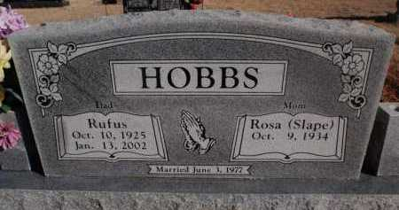 HOBBS, RUFUS - Newton County, Arkansas | RUFUS HOBBS - Arkansas Gravestone Photos