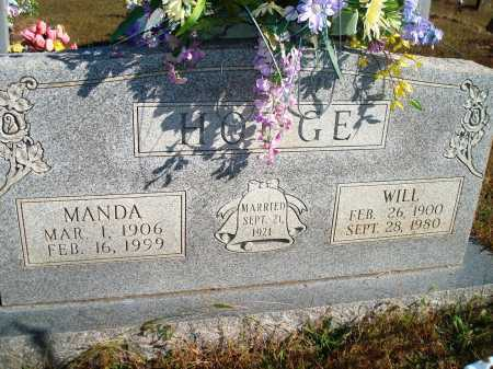 HODGE, MANDA - Newton County, Arkansas | MANDA HODGE - Arkansas Gravestone Photos