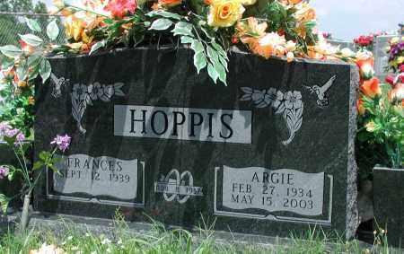 HOPPIS, ARGIE - Newton County, Arkansas | ARGIE HOPPIS - Arkansas Gravestone Photos